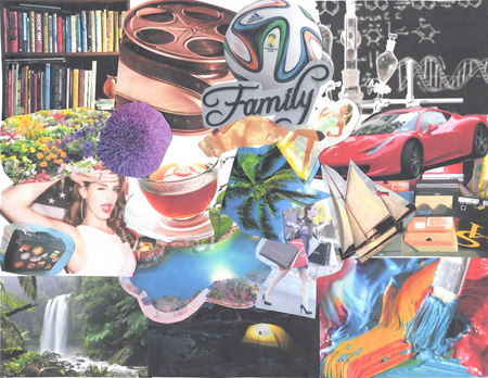 More2Life Art Collage